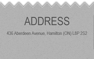 ADDRESS 436 Aberdeen Avenue, Hamilton (ON) L8P 2S2